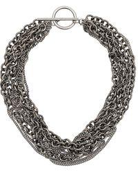 Ann Demeulemeester - Multichain Necklace - Lyst