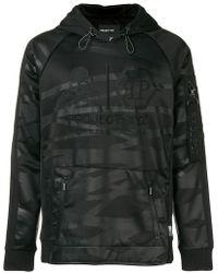 Philipp Plein - Striped Hooded Sweatshirt - Lyst