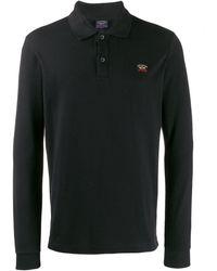 Paul & Shark ロゴ ポロシャツ - ブラック