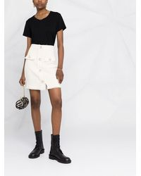 Pinko ツイードスカート - ホワイト