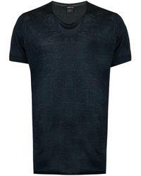 Avant Toi T-shirt à col rond - Bleu