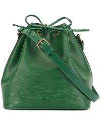 Louis Vuitton 1995 Petit Noe Drawstring Shoulder Bag - Green