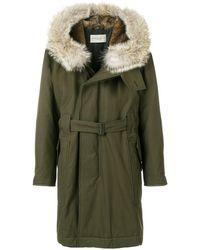 Holland & Holland Fur Hood Parka - Green