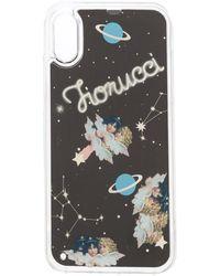 Fiorucci Liquid Space Angels Iphone X Case - Black