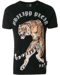 Philipp Plein Out Of My Head Tシャツ - ブラック
