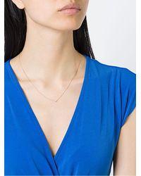 Astley Clarke Varro Honeycomb ダイヤモンドネックレス - ブルー