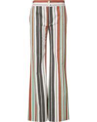 Chloé Pantaloni in cotone mélange - Multicolore