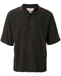 Martine Rose テックボウリングシャツ - ブラック