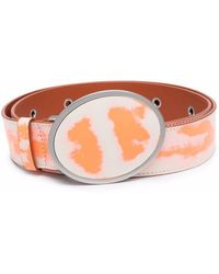 CAMPERLAB Abstract-print Belt - White