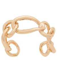 FEDERICA TOSI - Chain Link Cuff Ring - Lyst
