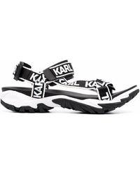 Karl Lagerfeld Volt Aktiv Sandals - Black