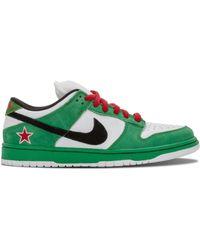 Nike Кроссовки Sb Dunk Low Pro - Зеленый