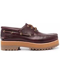 Timberland Zapatos náuticos 3-Eye Classic Lug de x Alife - Rojo