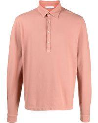 Boglioli ボタン ポロシャツ - ピンク
