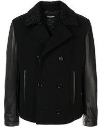 Dolce & Gabbana Jas Met Contrasterende Mouwen - Zwart