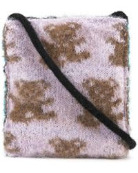 Ashley Williams Reversible Textured Mini Bag - Multicolour