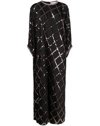 Tory Burch Sequin-embellished Gown - Black