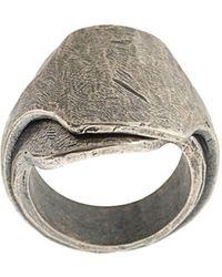 Tobias Wistisen Dubbele Ring - Metallic