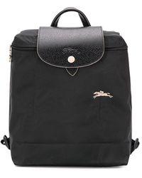 Longchamp Pliage Club バックパック - ブラック