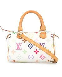 Louis Vuitton - Мини-сумка Speedy Pre-owned - Lyst
