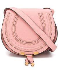 Chloé - Marcie Small Bag Fallow Pink - Lyst