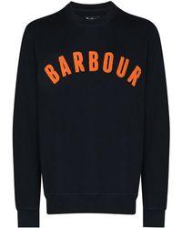 Barbour ロゴ スウェットシャツ - ブルー