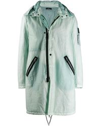 Stone Island Shadow Project Ripstop parka - Verde