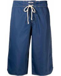 Jil Sander Long Swim Shorts - Blue