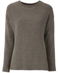 Osklen Fine-knit Sweater - Gray
