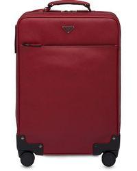 Prada サフィアーノ スーツケース - レッド