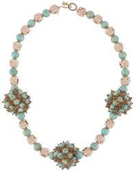 Dior 1960 Couture Halskette - Mehrfarbig