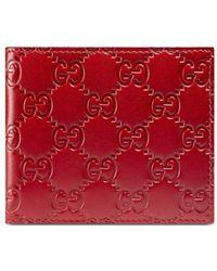 Gucci Signature Wallet - Rood
