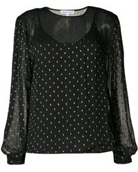Lily and Lionel - Metallic Livia Blouse - Lyst