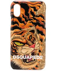DSquared² - IPhone X-Hülle mit Tiger-Print - Lyst