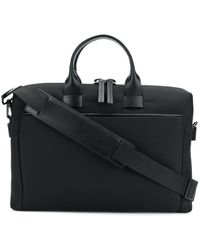 Troubadour スリム ビジネスバッグ - ブラック
