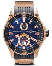 Ulysse Nardin Marine Chronometer 49mm - Blue