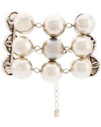 DANNIJO - Beaded Chain Bracelet - Lyst