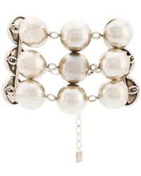 DANNIJO - Beaded Chain Bracelet - Lyst