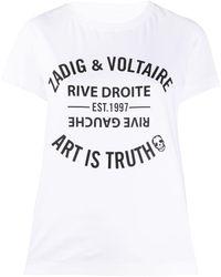 Zadig & Voltaire Walk Blason Tシャツ - ホワイト
