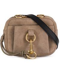 See By Chloé Front Hook Belt Bag - Brown