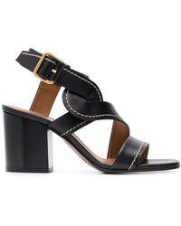 Chloé Candice 70mm Sandals - Black