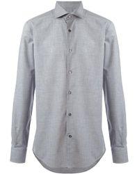 Pal Zileri - Curved Hem Shirt - Lyst