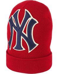 Gucci - Gorro con bordado NY Yankees - Lyst