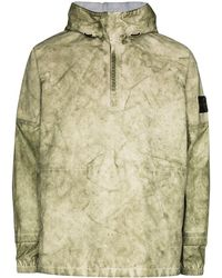 Stone Island Dust Membrana 3l Oxford Jacket - Green
