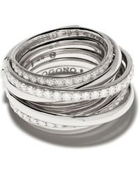 De Grisogono ダイヤモンド リング 18kホワイトゴールド - マルチカラー