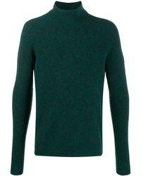 Roberto Collina Roll-neck jumper - Verde