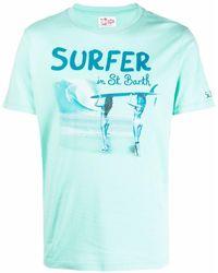Mc2 Saint Barth - Camiseta con estampado gráfico - Lyst