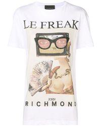 John Richmond - Le Freak T-shirt - Lyst