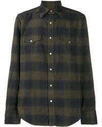 Tom Ford - スリムフィット チェックシャツ - Lyst