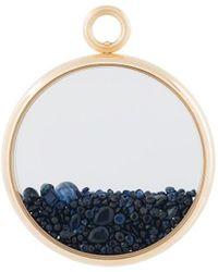 Aurelie Bidermann 'chivoir' Sapphire Large Pendant - Metallic